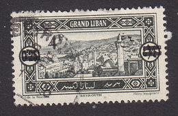 Lebanon, Scott #64, Used, Scenes Of Lebanon Surcharged, Issued 1926 - Great Lebanon (1924-1945)