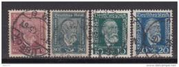 1924   MICHEL  Nº  362 / 363 , 368 / 369 - Usati