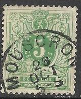 9W-947: MOUSCRON: N°45. E9 - 1869-1888 Lion Couché