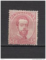 1872   EDIFIL  Nº 118 / * / - Nuevos