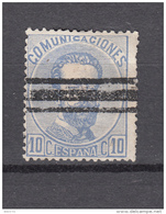 1872   EDIFIL  Nº 121S - 1872-73 Reino: Amadeo I