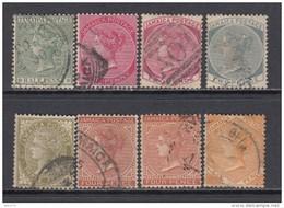 1883 - 96  VARIOS  SELLOS - Giamaica (...-1961)