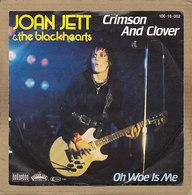 "7"" Single, Joan Jett, Crimson And Clover - Rock"