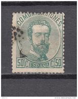1872   EDIFIL  Nº  126 - 1872-73 Reino: Amadeo I