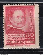1937  EDIFIL Nº 726   /**/, - 1931-Aujourd'hui: II. République - ....Juan Carlos I