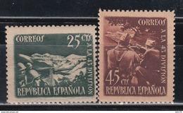 1938   EDIFIL Nº NE 787  / 788   /**/, - 1931-50 Ungebraucht