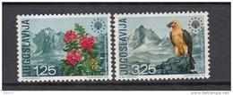 1970  YVERT  Nº 1291 / 1292  / * * / - 1945-1992 República Federal Socialista De Yugoslavia