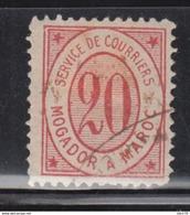 Mogador A Marrakech  , 1892  Yvert Nº 83 - Marruecos (1956-...)