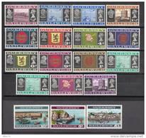 1969  YVERT 1 / 18  MHN / * / - Guernsey