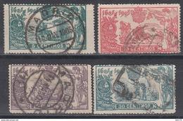 1905  EDIFIL Nº 257, 258, 259, 261, - 1889-1931 Reino: Alfonso XIII
