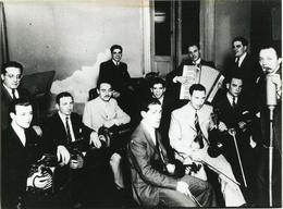 TANGO ORQUESTA RICARDO MALERBA CON BANDONEON, FUELLE. ARGENTINA CIRCA 1910's FOTO PHOTO - LILHU - Personalidades Famosas