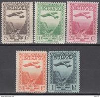 1931   EDIFIL Nº 650 / 654   /**/ - 1931-50 Ungebraucht