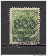 1923  MICHEL Nº  306 A  -- Geprüft -- - Deutschland