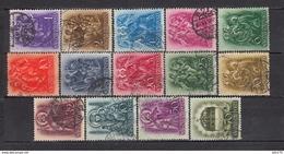 1938   YVERT  Nº 490 / 503 - Hungría