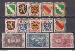 Deutschland Alliierte Besetzung Französische Zone1945  MICHEL Nº 1 / 13 , MHN - Zona Francesa