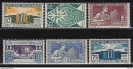 1924 - 1925    YVERT Nº  210 / 215  , MH - Ongebruikt