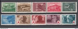1938 - 1944   YVERT  Nº 513 / 518 , 649 / 652       / * / - Hungría