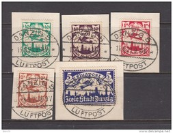 1921   VARIOS  SELLOS - Dantzig