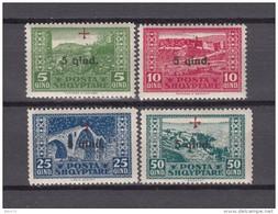 1924   YVERT  Nº  136 / 139    / ** / - Albania