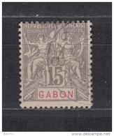 1904 - 1907   YVERT  Nº  21 - Gabon (1886-1936)