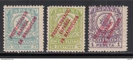 1917 GIRO POSTAL, EDIFIL Nº 1,2, 5, /**/ - Marruecos Español