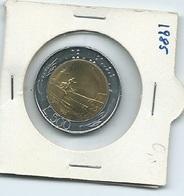 MN113  ITALIA 1985   L.500 Bicolore - 1946-… : Repubblica