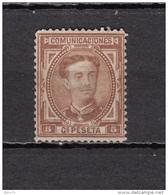 1876   EDIFIL  Nº  174   ( * ) - 1875-1882 Regno: Alfonso XII