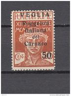 1920    Sassone  Nº  9  / * / - Arbe & Veglia