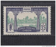 1910   YVERT  Nº  41  / * / - Gabon (1886-1936)