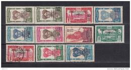 1925 - 1931  VARIOS  SELLOS  / * / - Gabon (1886-1936)