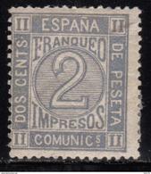 1872  EDIFIL Nº  116  MH - Nuevos