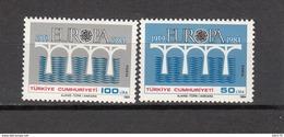 1984   MICHEL  Nº 2667 / 2668    / ** / - 1921-... República