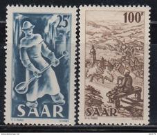 1949-1950 YVERT Nº 261, 262, MNH - 1947-56 Ocupación Aliada