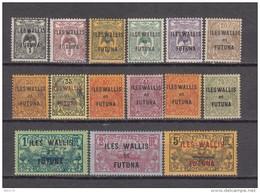 1920    VARIOS  SELLOS  / * / - Wallis Y Futuna