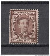 1876   EDIFIL  Nº  177   ( * ) - 1875-1882 Regno: Alfonso XII