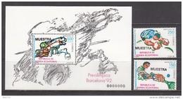1992  JUEGOS OL�?MPICOS  DE BARCELONA  1992   -- MUESTRA --    / ** / - Guinea Ecuatorial