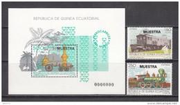 1991  FERROCARRILES DEL MUNDO    -- MUESTRA --    / ** / - Guinea Ecuatorial