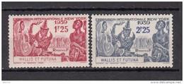 1939     YVERT  Nº  70 / 71   / * / - Wallis Y Futuna