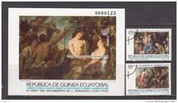 1993  MAESTROS DE LA PINTURA    -- MUESTRA --    / ** / - Guinea Ecuatorial