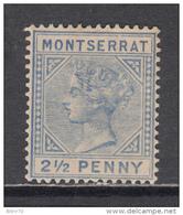 1884 - 1885   YVERT  Nº 9  ( * ) - Montserrat