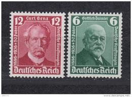 1936    MICHEL  Nº 604 / 605   / ** / - Alemania