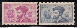 1934  YVERT Nº 296 / 297  , MNH - Nuevos