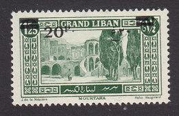Lebanon, Scott #67, Mint Hinged, Scenes Of Lebanon Surcharged, Issued 1926 - Great Lebanon (1924-1945)
