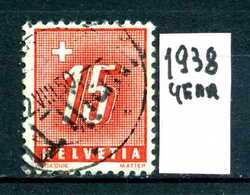 SVIZZERA - HELVETIA - Year 1938 - Viaggiato - Traveled - Voyagè - Gereist. - Segnatasse