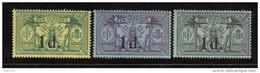 1920   YVERT  Nº 65 , 66 , 67     / * / - Nuevos