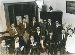 TANGO ORQUESTA JUAN DE DIOS FILIBERTO CON BANDONEON, FUELLE. ARGENTINA CIRCA 1910's FOTO PHOTO - LILHU - Personalidades Famosas
