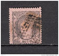 1870    EDIFIL  Nº 103 - 1870-72 Regencia