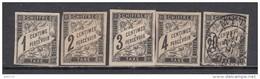 1884  VARIOS  SELLOS - Postage Due