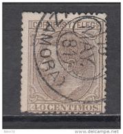 1879   EDIFIL  Nº  205 - 1875-1882 Koninkrijk: Alfonso XII