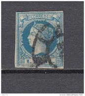 1860    EDIFIL  Nº 55 - 1850-68 Regno: Isabella II